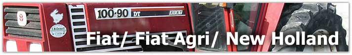 Fiat Tractor Parts Header