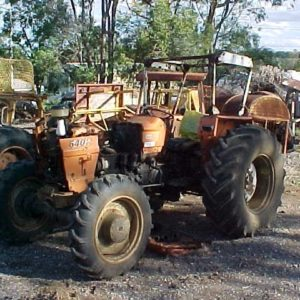 Fiat 640 DT Tractor Wrecking